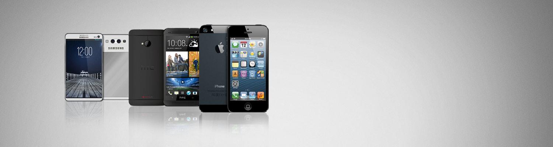 Hos oss får du tak i alle typer mobiltelefoner (ink. iPhone) uten abonnement